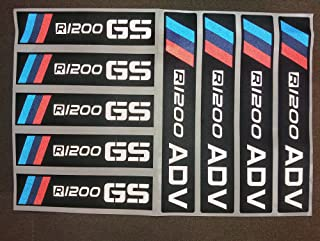 8 X Anti Scratch Durable Reflective Protective Decal Film Sticker for 1200 GS ADV Touratech Panniers Refelective Sticker