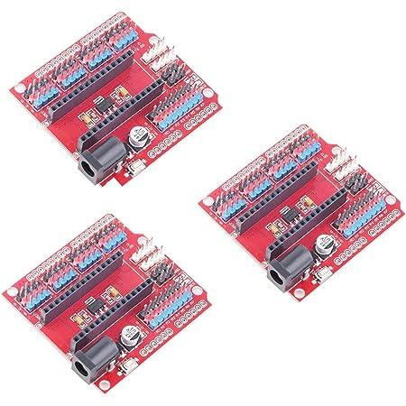 HiLetgo 3個セット Nano V3.0 I/O 拡張ボード NANO I/Oシールド NANO IOボード Arduinoに対応