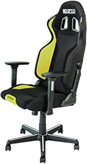 Sparco 00989NRGI Silla Grip Yellow, Negro/Amarillo