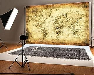 world map photography
