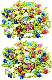MegaCrea DIY Galon Ruban /à Pompons Multicolores