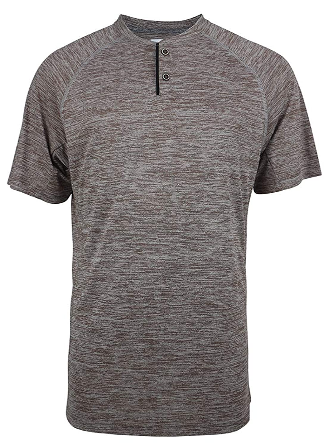 Men's Polo Classic Fit Quick Dry Henley T-Shirt Short Sleeve Tee Athletic T-Shirt
