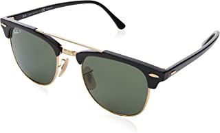 RB3816 Clubmaster Double Bridge Square Sunglasses