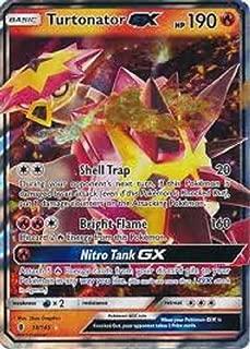 Turtonator-GX - 18/145 - Ultra Rare - Sun & Moon: Guardians Rising