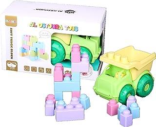 AL OSTOURA Educational Toys Soft Truck Blocks