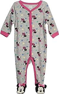 Baby Girls' Sleep N' Play Footie: Minnie Mouse, Daisy...