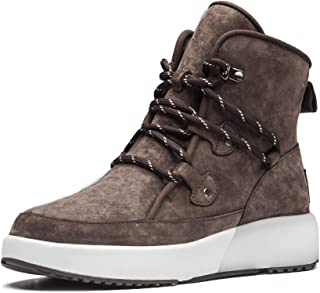 Aumu Taurus Leather Metal Buckle Brass Eyelets Suede Upper Laces Winter Snow Boots