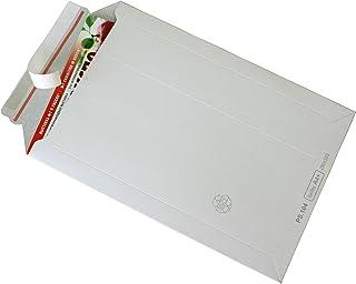 200 Karton Versandtaschen aus Microwellpappe 250 x 352 x 1-40 mm braun A4+