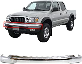 MBI AUTO - Chrome, Steel Front Bumper Face Bar Shell for 2001 2002 2003 2004 Toyota Tacoma Pickup 01 02 03 04, TO1002174
