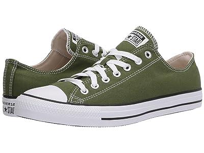 Converse Chuck Taylor All Star Seasonal Ox (Cypress Green) Athletic Shoes