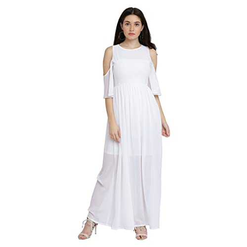 29a6c4fdef0 White Maxi Dress  Buy White Maxi Dress Online at Best Prices in ...
