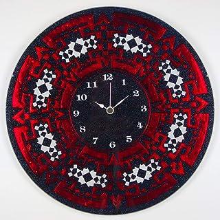 """Sandro Moro Vetro Design Reloj de pared""""MEXICAN""""."""