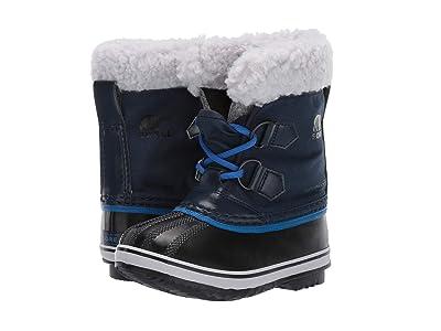 SOREL Kids Yoot Pac Nylon (Toddler/Little Kid) (Collegiate Navy/Super Blue 1) Boys Shoes