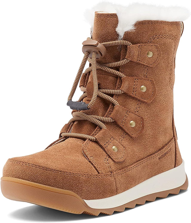 SOREL Youth Whitney II Joan Lace Boot — Waterproof Winter Boots