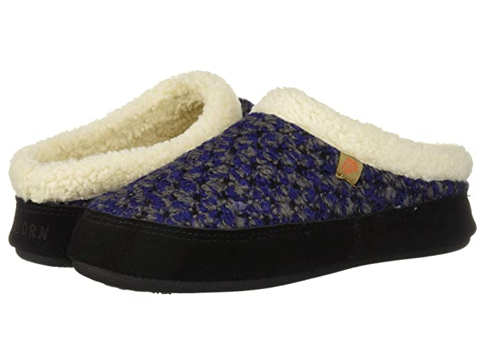 Acorn  Jam Mule (Blueberry) Womens  Shoes