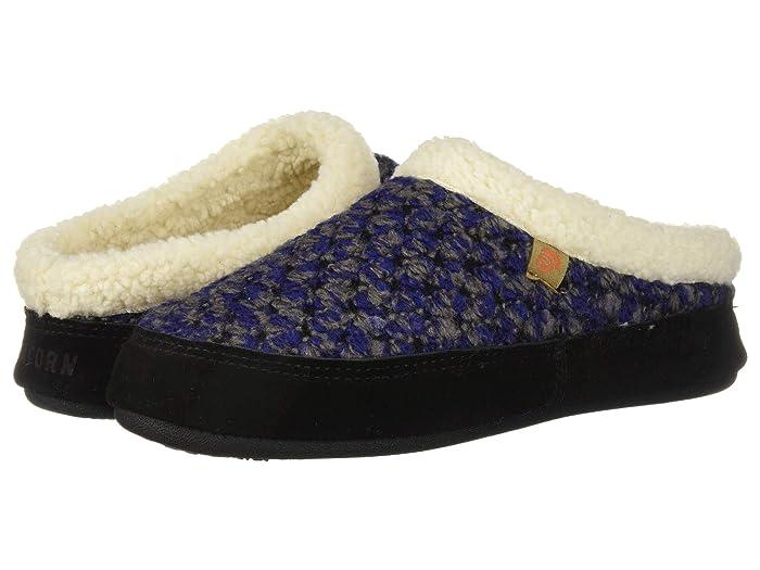 Acorn  Jam Mule (Blueberry) Womens  Shoes