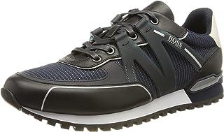 BOSS Herren Parkour-L Runn Hybrid-Sneakers mit gummiertem Logo-Besatz Größe