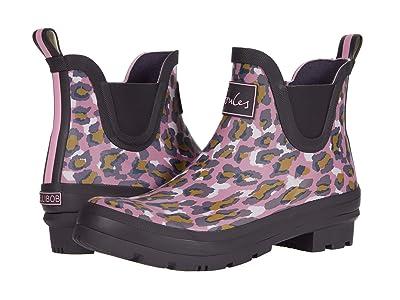 Joules Wellibob (Pink Leopard) Women