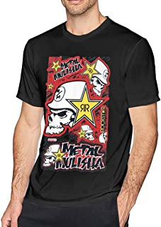Black, Medium Factory Effex Unisex-Adult Rockstar Blackstar Hooded Sweatshirt