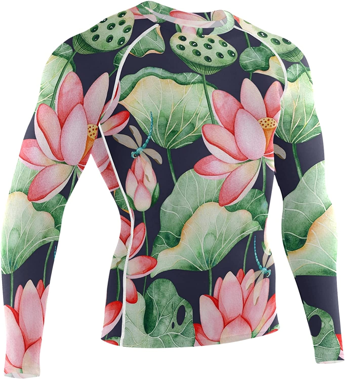 Oyihfvs Men's Sports Compression Tight, Long Sleeve Tee Base Layer T-Shirt Undershirt