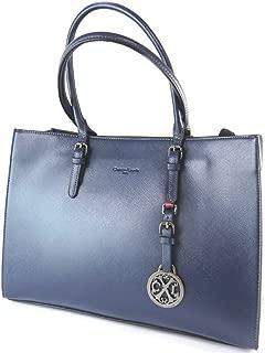 Creative bag 'Christian Lacroix'navy blue - 40x28x16 cm (15.75''x11.02''x6.30'').