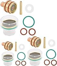 Eatbuy Elettrodo di tungsteno Puro Elettrodo TIG Punta Verde 10 Pezzi Elettrodi di tungsteno Puro Punta Verde WP 1.0//1.6//2.0//2.4//3.2mm per Saldatura Tig AC 1.0mm*150mm