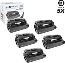 LD Remanufactured Toner Cartridge Replacement for Samsung ML-7300DA (Black, 5-Pack)