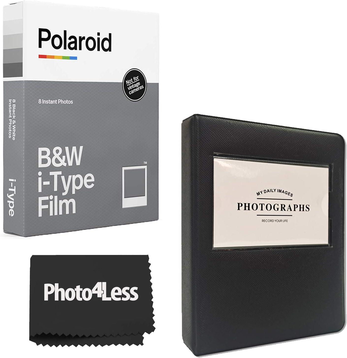 Polaroid Black White i-Type Instant Film 8 Omaha Mall + Minneapolis Mall Exposures