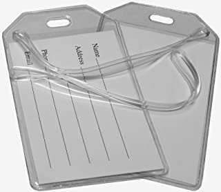 Best clear luggage tag covers Reviews
