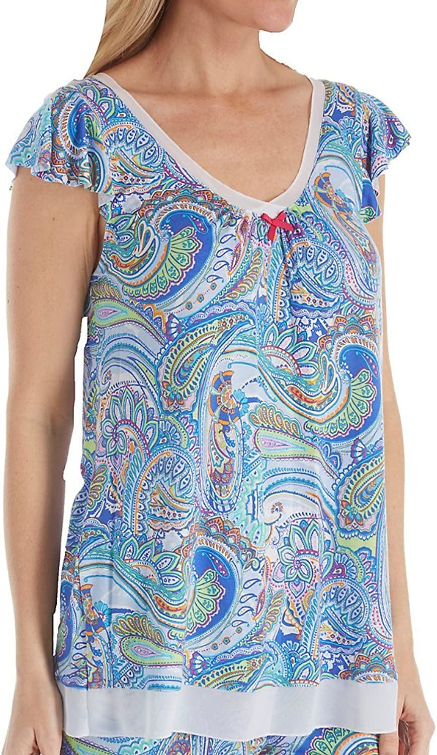 Ellen Tracy Summer Short Sleeve Top (8418634)