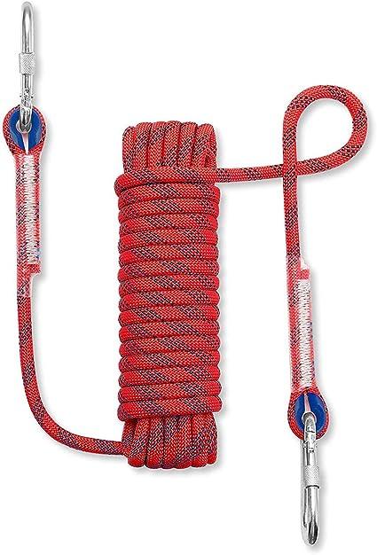 Cuerda de escalada de 10 mm, Cuerda de seguridad multifunción ...