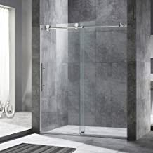 WOODBRIDGE MBSDC6076C Frameless Sliding Shower, 56