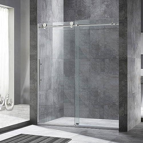 Frameless Glass Shower Door Amazon
