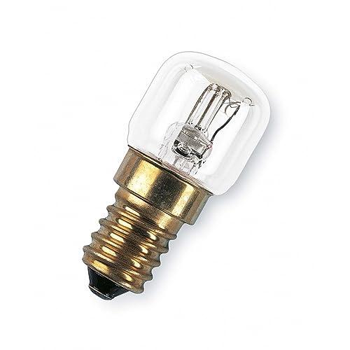 OSRAM Lampe spéciale four E14 jusqu'à 300 degrés Special Oven T / Ampoule pour four 15 Watt / culot à vis / clair, blanc chaud — 2700K