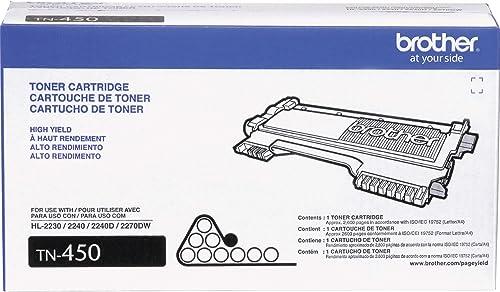 CARTUCHO TONER DCP7065DN/HL2240/2270/MFC7360/786 - TN450