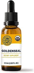 Vimergy USDA Organic Goldenseal 10:1 (115 ml)