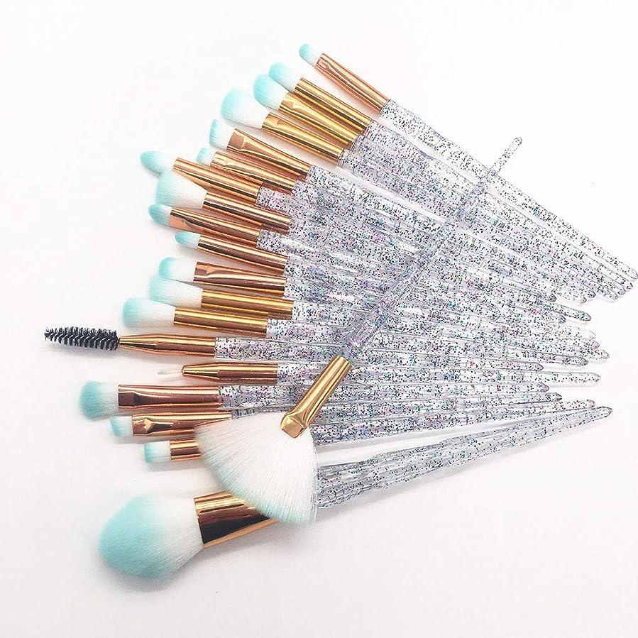 対応する設計接触20化粧筆ビギナービューティーキット