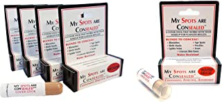 My Spots Are Concealed MEDIUM 4 Pack - FREE Warm Beige Concealer/Blend for a perfect match/Best concealer for face, body and back acne