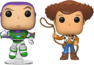 Funko Pop! Disney: Toy Story 4 - Woody and Buzz Collectible Figures Set of 2 - in Bubble Pouch