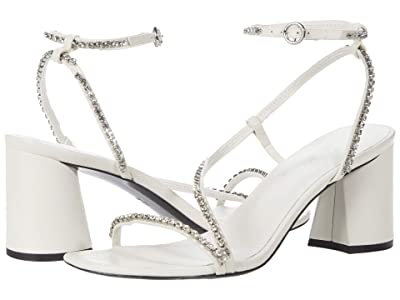 3.1 Phillip Lim Drum Crystal Ankle Strap Sandal (Ivory 2) Women