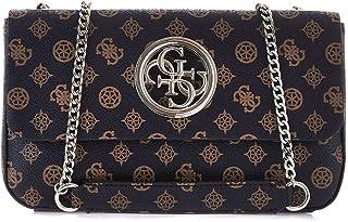 Luxury Fashion | Guess Womens HWSP7186210BROWN Brown Shoulder Bag | Fall Winter 19