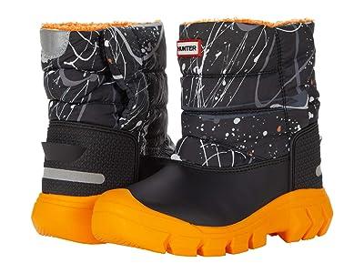 Hunter Kids Original Snow Boots (Toddler/Little Kid) (Molecular Splash Hunter Black) Kid