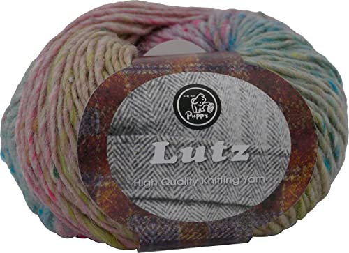 Fall Wolle Puppy Lutz 40g 95m col.603 5 Kugel-Set