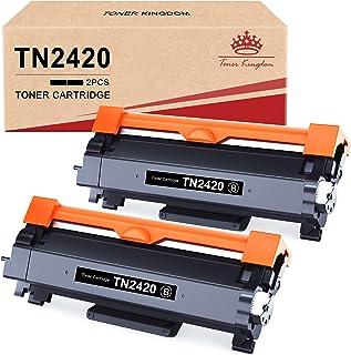 Toner Kingdom TN2420 Cartucce Toner Compatibile per Brother TN2420 TN2410 per Brother MFC-L2710DW MFC-L2710DN HL-L2350DW D...