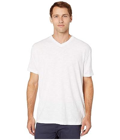 Mod-o-doc El Porto Short Sleeve V-Neck Tee (White) Men