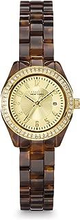 Caravelle New York Women's 44M104 Analog Display Analog Quartz Brown Watch