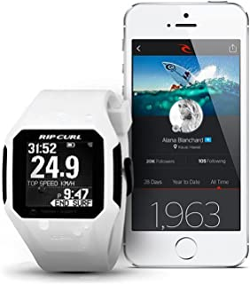 (リップカール) RIPCURL 時計 ウェアラブルGPSサーフウォッチ A01-001 (WHT, F)