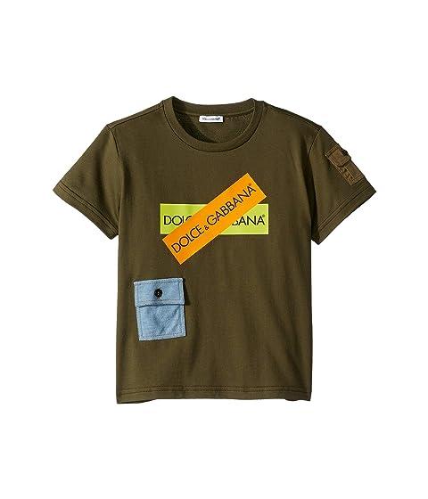Dolce & Gabbana Kids D&G Army Logo T-Shirt (Little Kids)