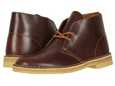 Clarks Desert Boot (Tan Leather) Men
