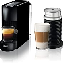 Krups Nespresso Essenza Mini & Aeroccino XN1118 koffiecupmachine - Met automische melkopschuimer - 19 bar - Snelle opwarmi...